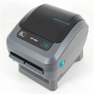 zebra zp450 thermal label printer brand new ebay paypal With install zebra printer
