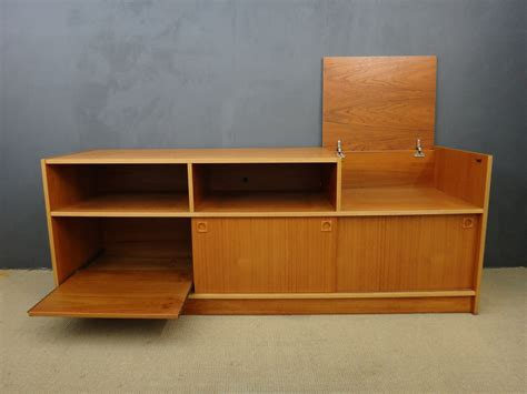 danish modern stereo cabinet retrocraft design