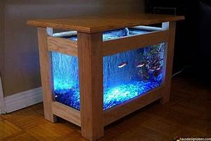 Aquarium Dekorieren Ideen : tisch aquarium 013 aquarium aquarium aquarium fische und aquarien ~ Bigdaddyawards.com Haus und Dekorationen