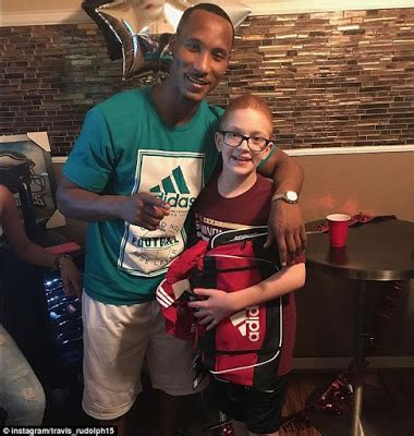 the other paper: Travis Rudolph is a NY Giants signee ...