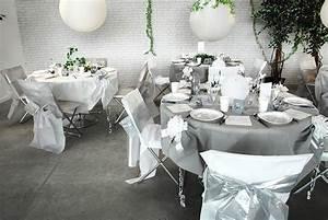 Decoration De Table De Mariage : table de mariage colombe nuances de blanc et gris ~ Melissatoandfro.com Idées de Décoration