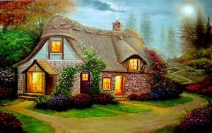 Beautiful, Cottage, High, Definition, Widescreen ...