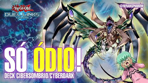 drago supremo chimeratech deck cibersombrio cyberdark yu gi oh duel links 411