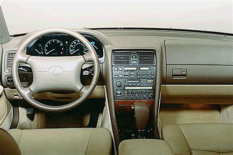 lexus ls400 interior 1990 94 lexus ls 400 consumer guide auto
