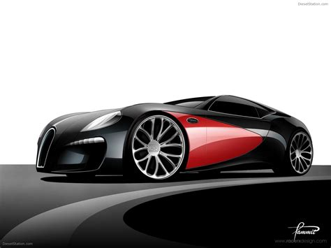 Bugatti Type 12-2 Streamliner Concept Design By