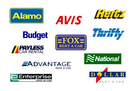 Differences Between Avis, Budget, Hertz, Enterprise