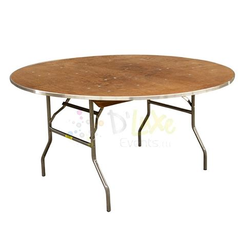 60 39 39 Plywood Round Tables Seats 8 10