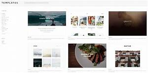 Fancy squarespace blog templates festooning example for Best squarespace template for video