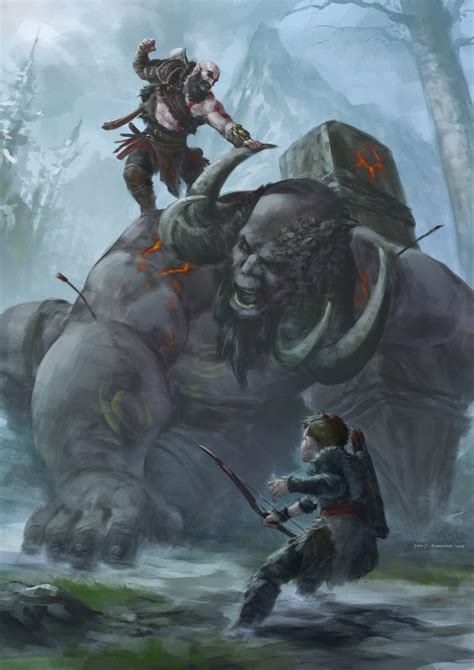 God Of War Seems To Be Developing Quite The Fan Art