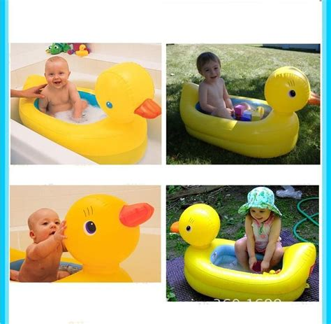 new fashion inflatable bath tub baby portable 0 2 years