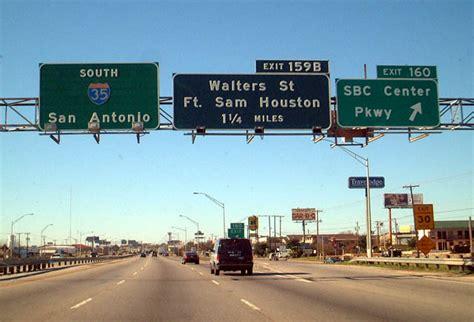 interstate  south san antonio aaroads texas highways