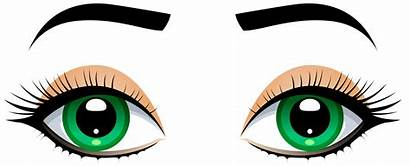 Eyes Eyebrows Clipart Clip Eyebrow Female Cliparts