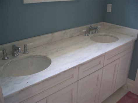 white marble vanity top  double sinks       bathroom tops sink clipgoo