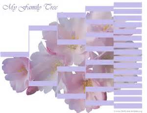 Blank Family Tree Forms