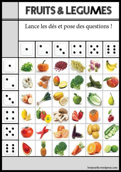 le jeu de cuisine jeux avec des dés fle and fruit