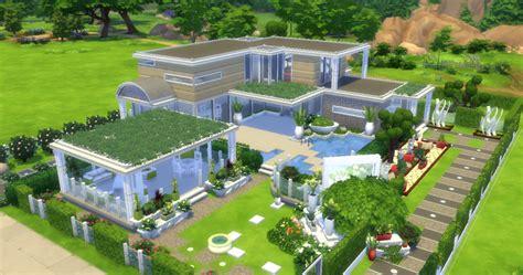 Maison Graphique Moderne Sims 4