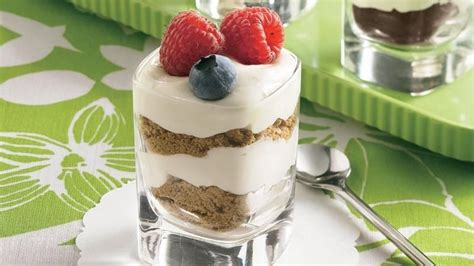 cheesecake glass desserts recipe from betty crocker