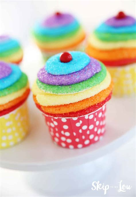 diy rainbow party ideas skip   lou