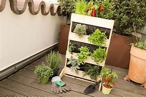 Mini Obstbäume Für Den Garten : mini pflanzbeet f r den balkon bauen ~ Heinz-duthel.com Haus und Dekorationen