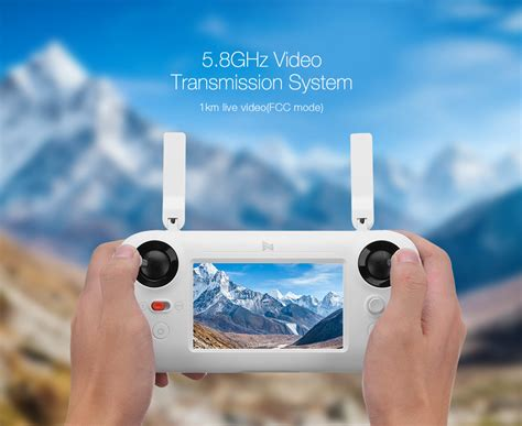 xiaomi fimi  p  gps km fpv drone rtf white