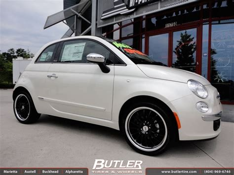 Fiat 500 Aftermarket by Fiat 500c With 17in Tsw Zolder Wheels Exclusively From