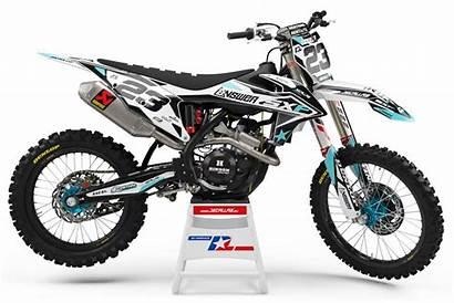 Ktm Kit Graphics Bike Dirt 250 Stickers