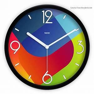 Decorative Metal Wall Clocks Small Quite Clock Designs