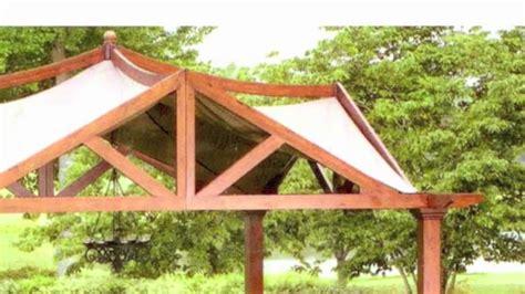lowes garden treasures    pergola replacement canopy