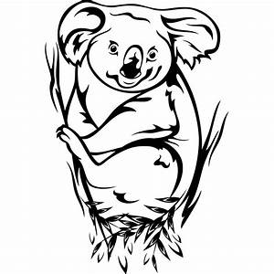Koala Clipart Black And White | Clipart Panda - Free ...