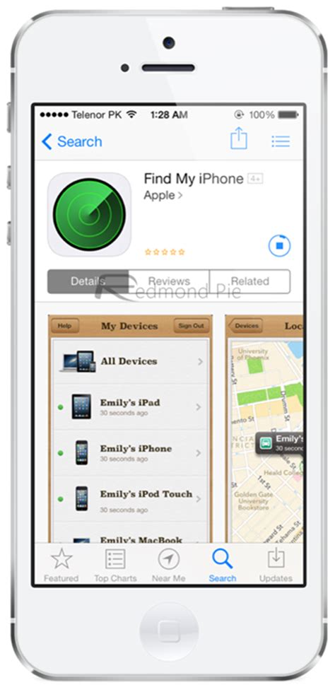 find my iphone app updated apple updates find my iphone app with a flat icon for