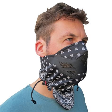 face mask bandana motorcycle cycling cold winter