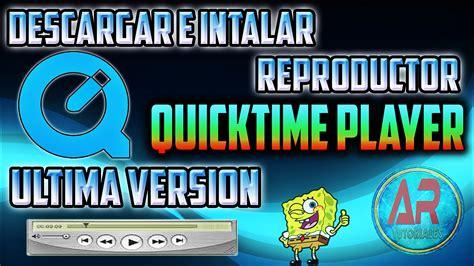 quicktime player descargar