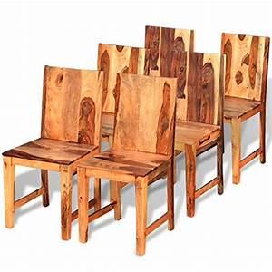 Esszimmerstühle 6er Set Günstig : festnight 6er set esszimmerst hle holz st hle essstuhl k chenst hle stuhl set aus sheesham ~ Indierocktalk.com Haus und Dekorationen