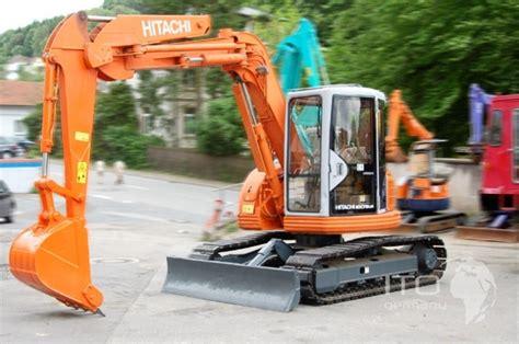 hitachi exur mini excavator   sale