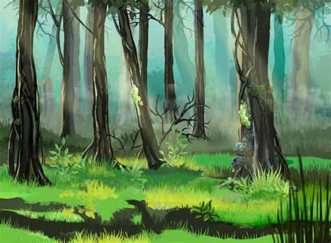 Forest illustration. on Behance