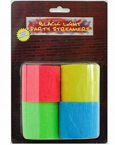 blacklight streamers 7 99