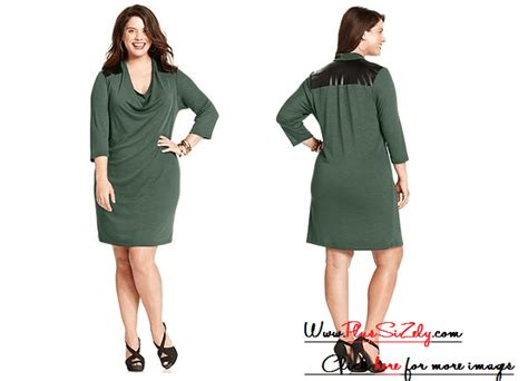 Plus Size Sweater Dress To Wear In Autumn Soft Green Plus Size Sweater Dress