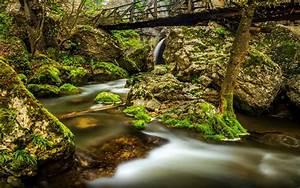 Emen, Canyon, Negovanka, River, 20, Km, From, Veliko, Turnovo, City, In, Bulgaria, Desktop, Wallpaper, Hd