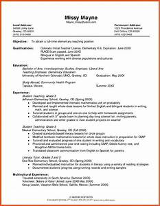 resume objective for teacher resume With best teacher resume examples