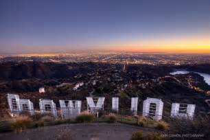 Hollywood Sign Sunset