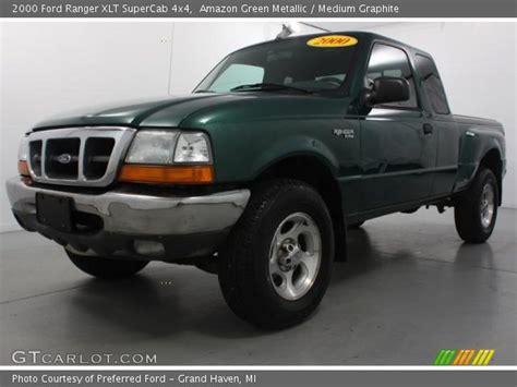 amazon green metallic  ford ranger xlt supercab