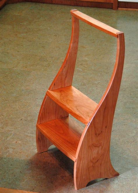 kitchen step stool finewoodworking