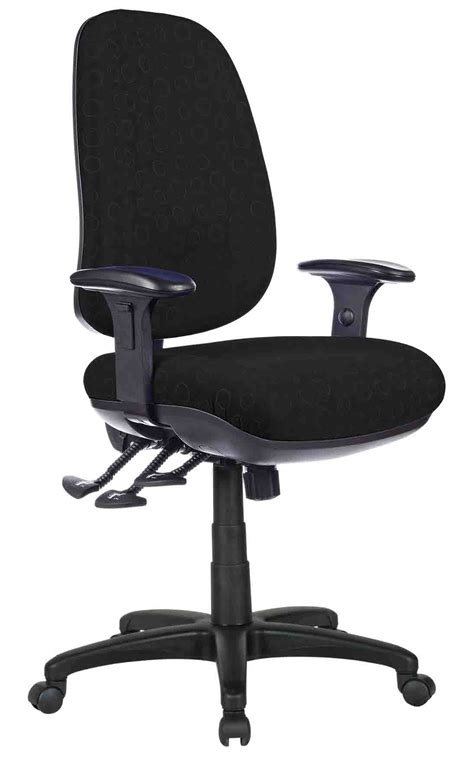 track heavy duty chair with arms kenn office furniture