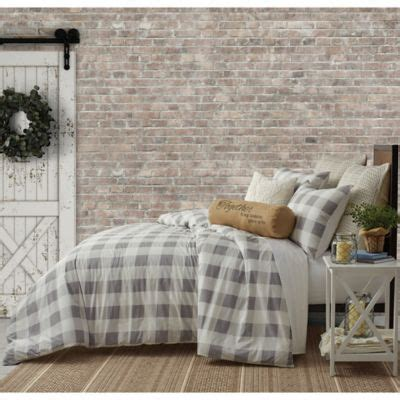 Bee Willow Home Buffalo Check Bedding Collection Bed