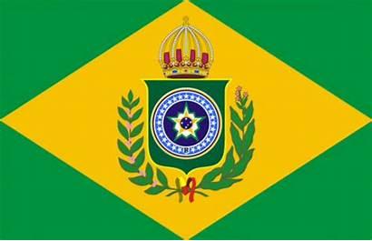Empire Brazil Future Flag Motto Brasil