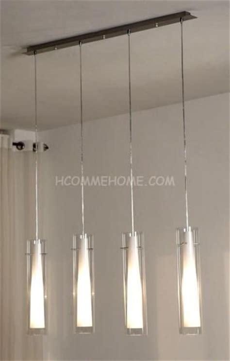 suspension luminaire cuisine design luminaire suspension design en nickel chrom 233 verre yona