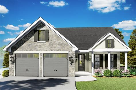 beautiful  level  bed house plan  open concept floor plan  architectural