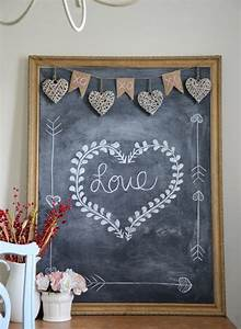 15 Romantic Chalkboard Ideas For Valentine39s Day Home
