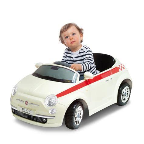 Carro com bateria para crianças - Fiat 500 branco FIAT 500 ...