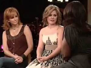 Kelly Clarkson and Reba McEntire — Because of You — Oprah ...
